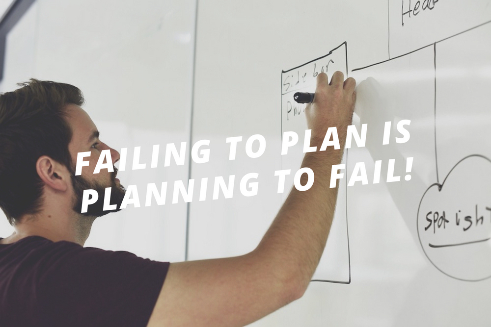 Failing to Plan is Planning to Fail!