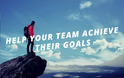 Help your team achieve their goals.