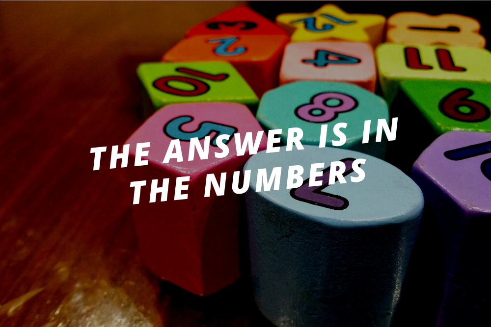 The answer is in the numbers