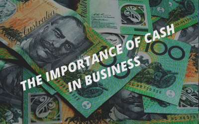 The importance of cash in a business