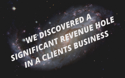 How we accidentally found a $7.8 million revenue hole in a client's business.
