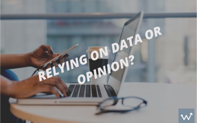 Are you using data to be the accountability tool, versus opinion or conversation?