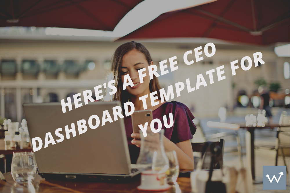 Here's a free CEO dashboard template for you