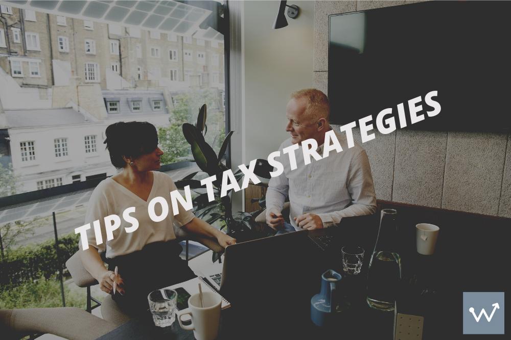 Tip on tax strategies